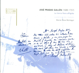 Pradas Gallén - La tierra llora afligida
