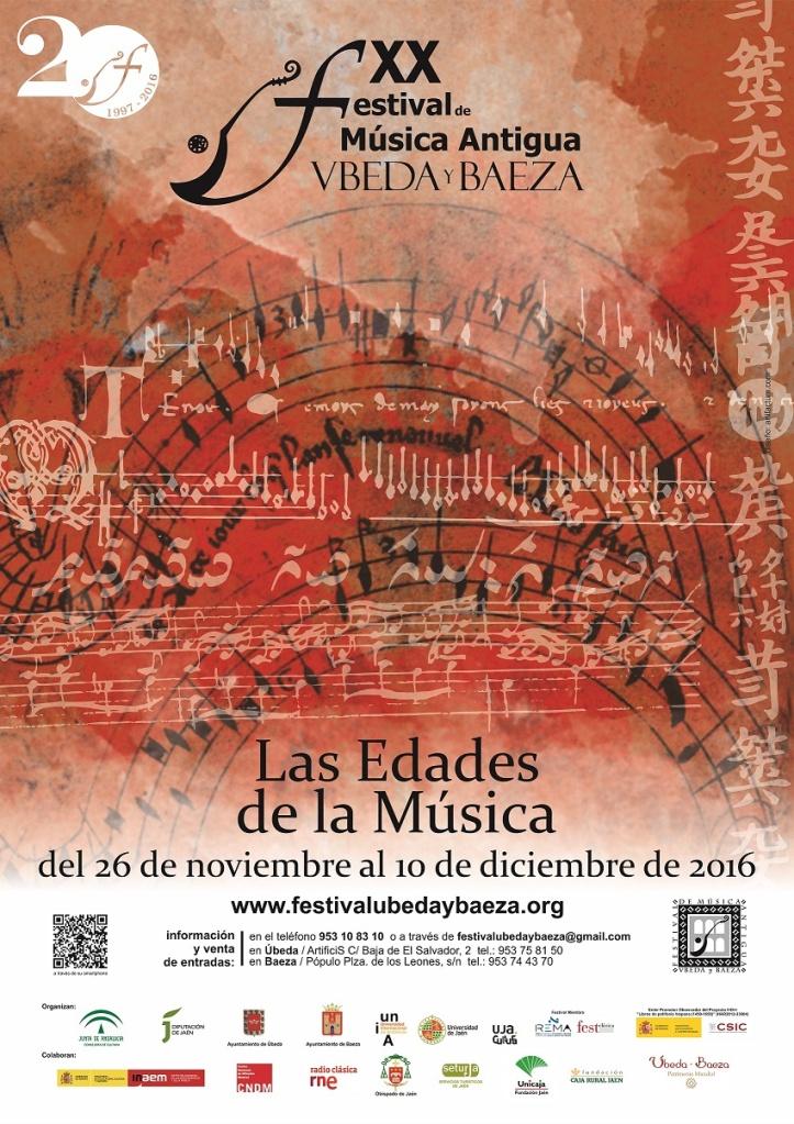 XX Festival de Música Antigua Úbeda y Baeza2016