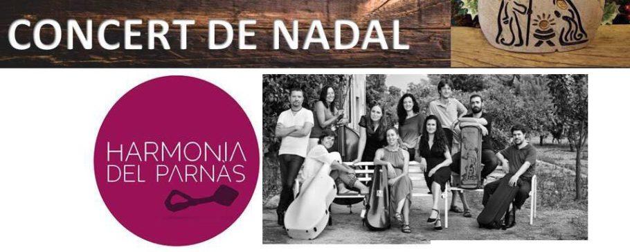Harmonia del Parnás en Brihuega y Polinyà porNavidad